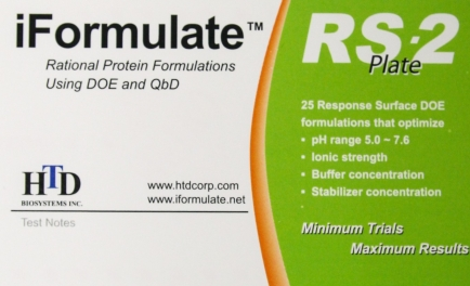 iFormulate RS-2 Plate