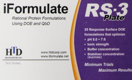 iFormulate RS-3 Plate